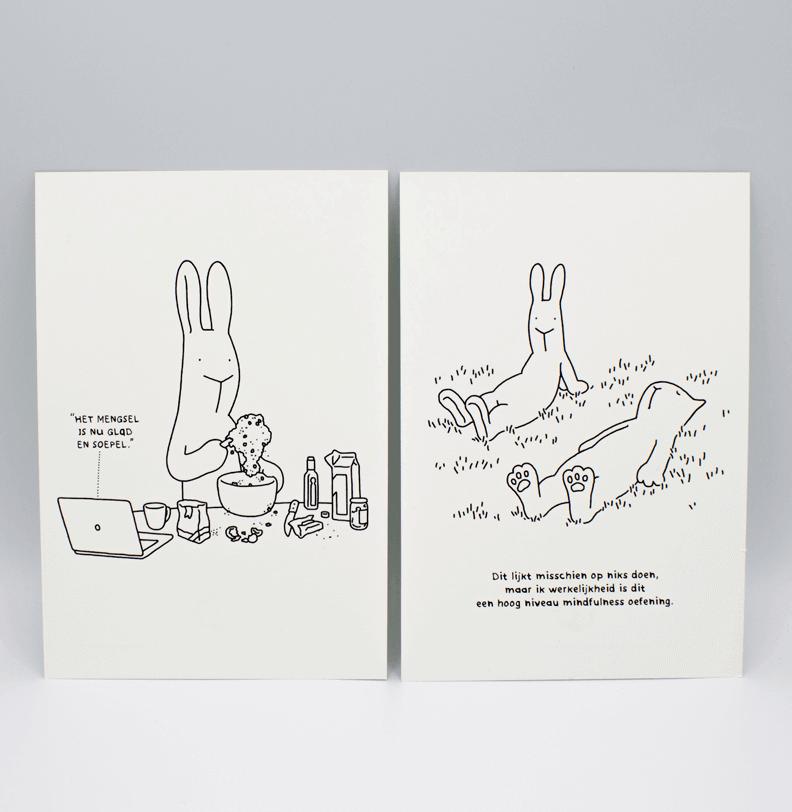 Ansichtkaarten drukken