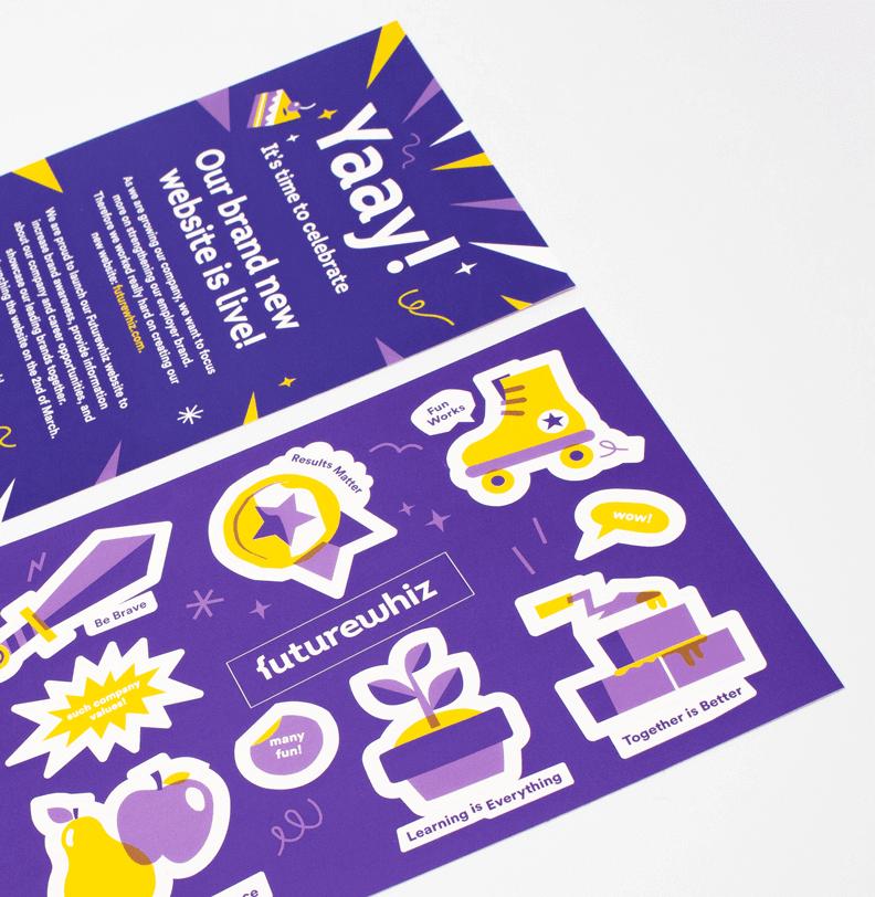 Stickers drukken eigen vorm