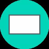 Ongevouwen visitekaartjes met Spot-UV lak