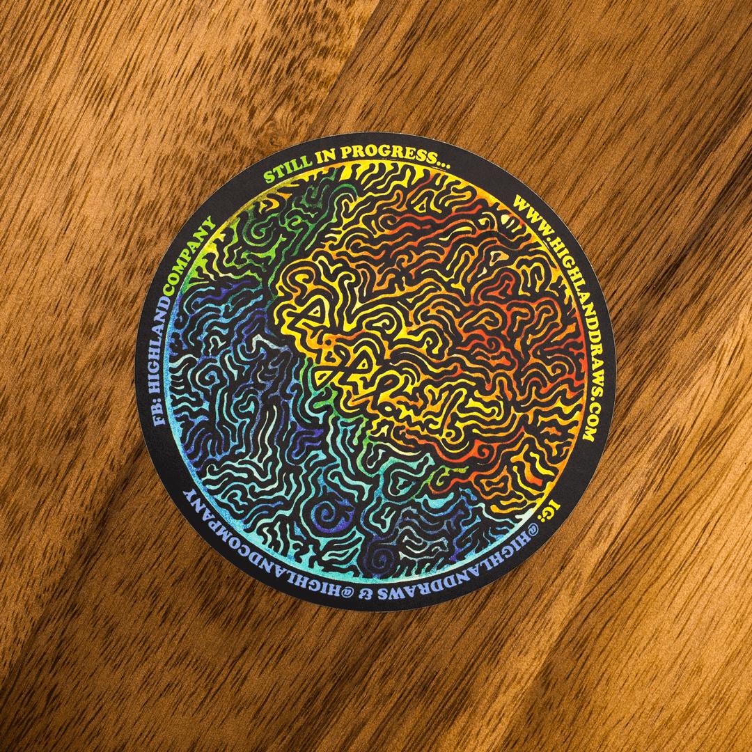 Stickers drukken eigen formaat