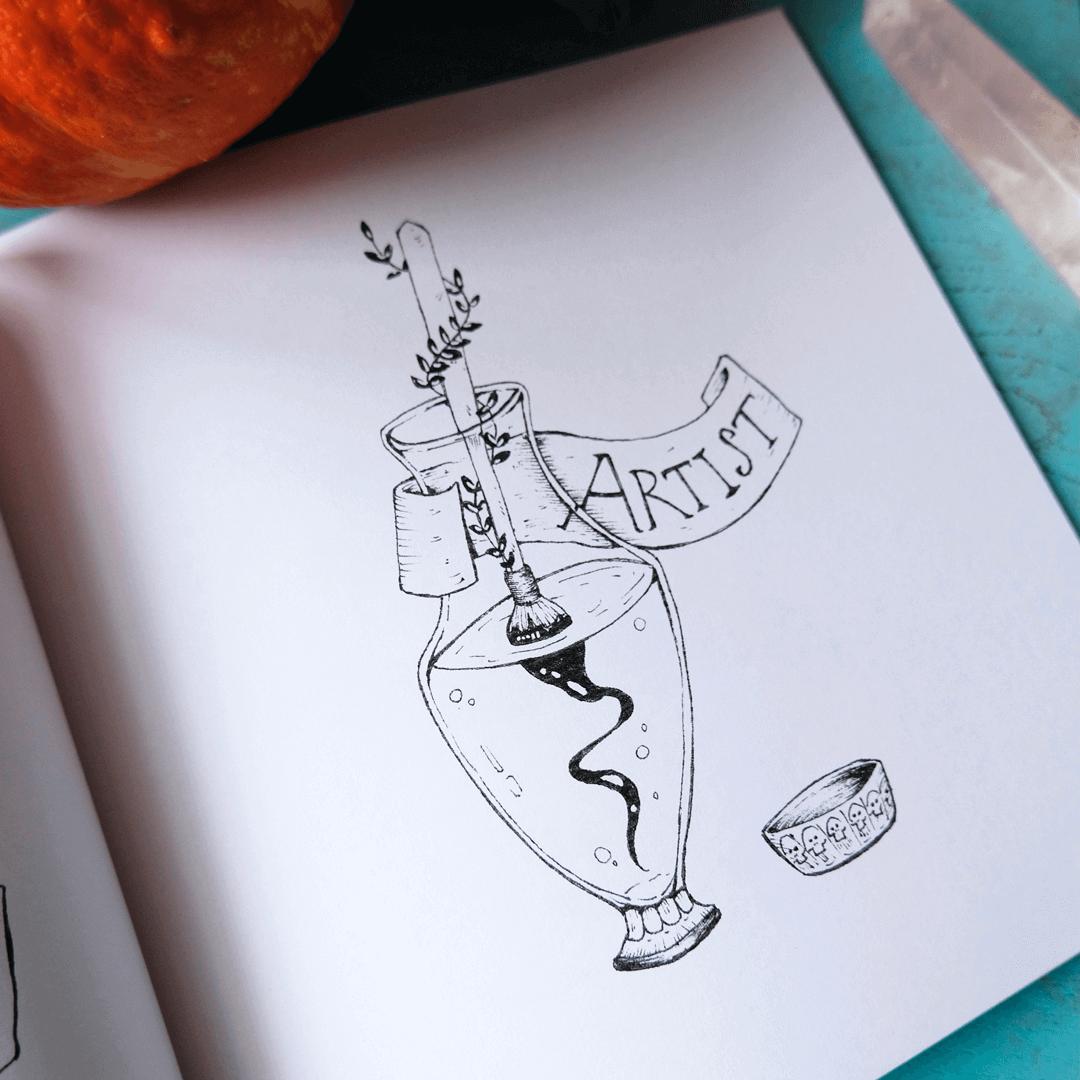 Kleurboek maken