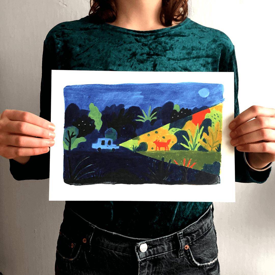 Posters met kunst drukken