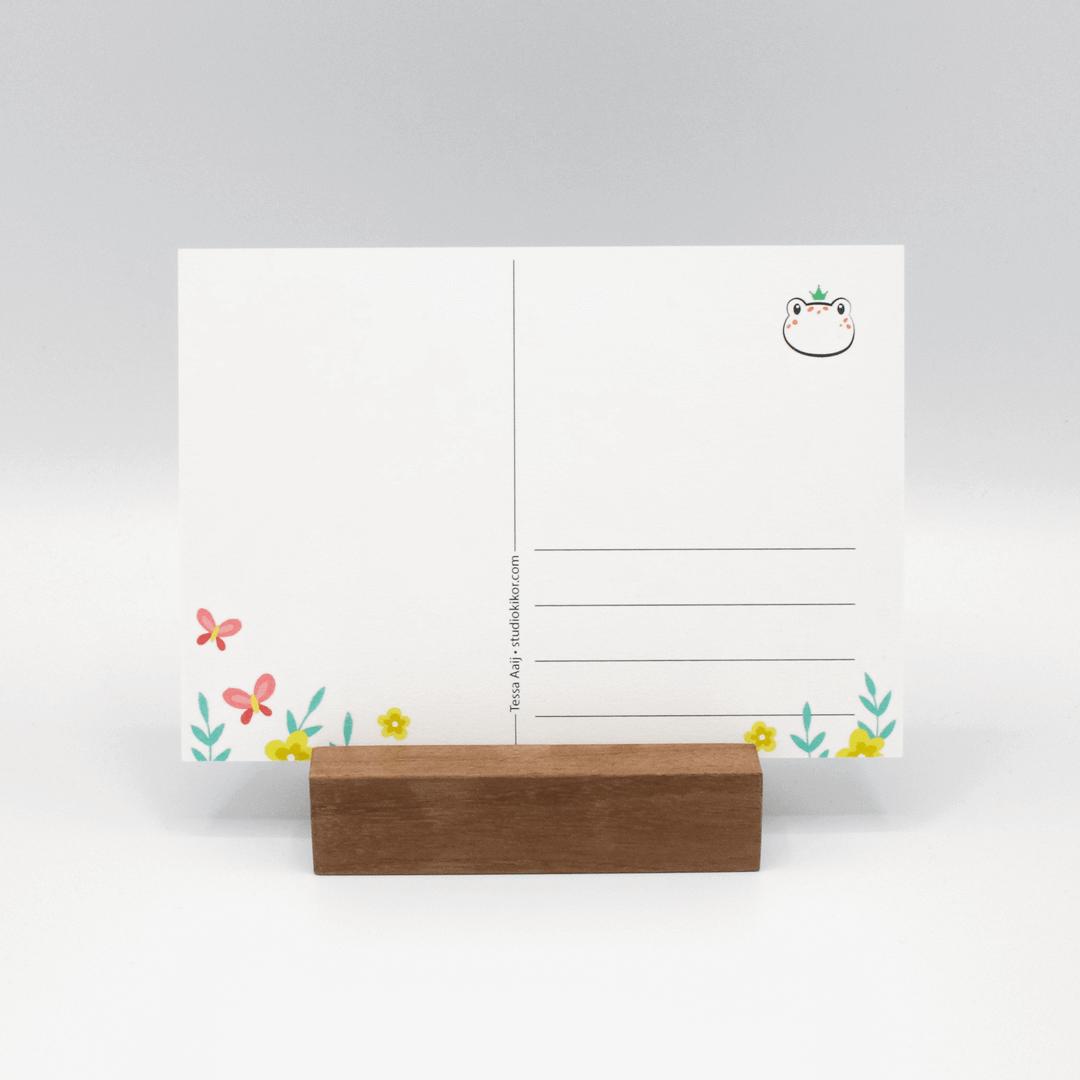 Kaarten drukken illustratie
